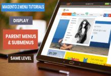 display-magento-2-menus-same-level