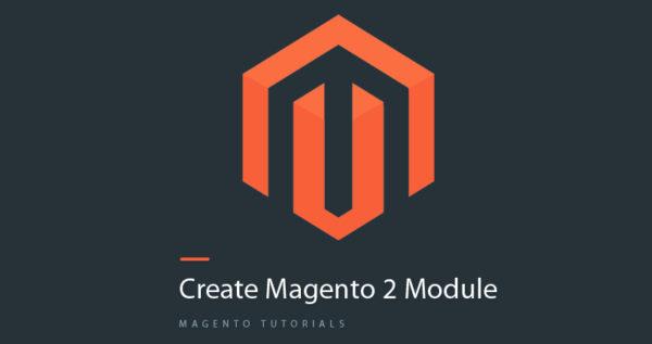 create magento 2 module