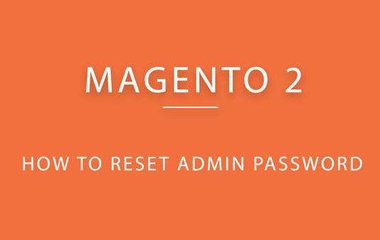 Magento 2 admin password