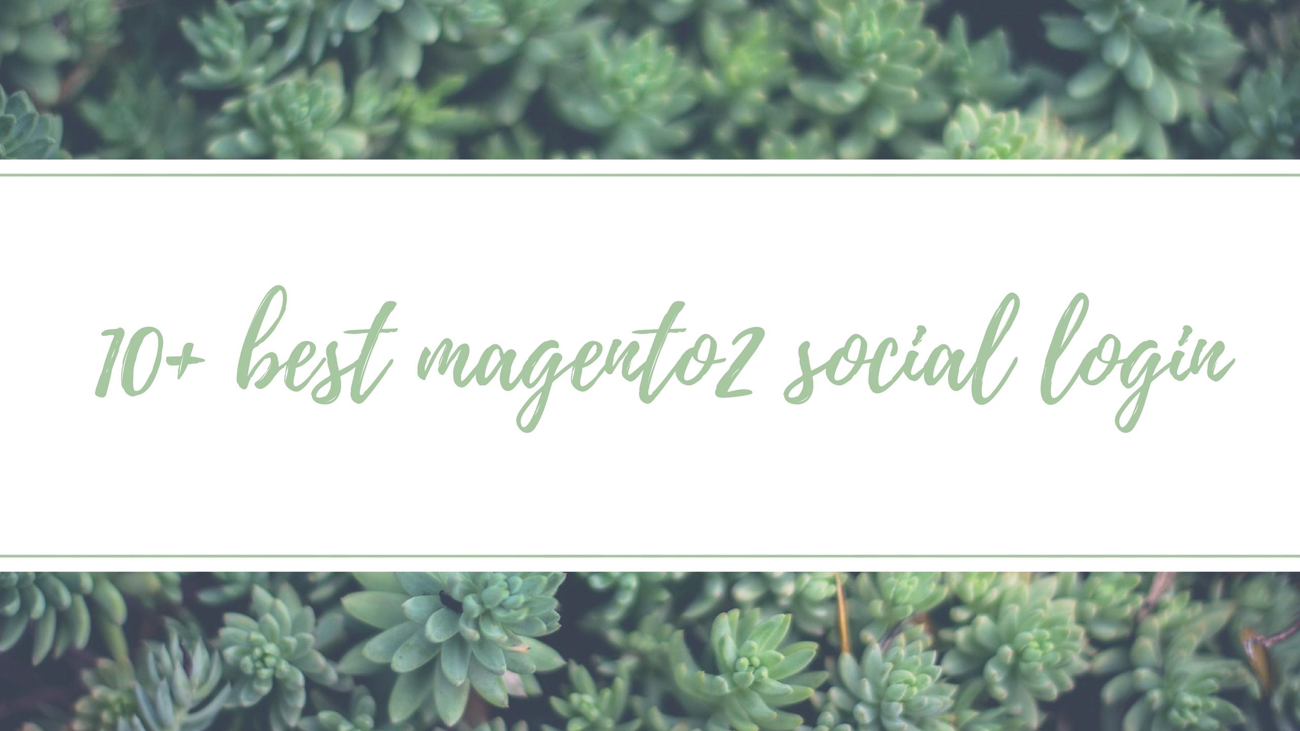 best magento 2 social login