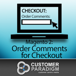 free magento 2 order comments for checkout