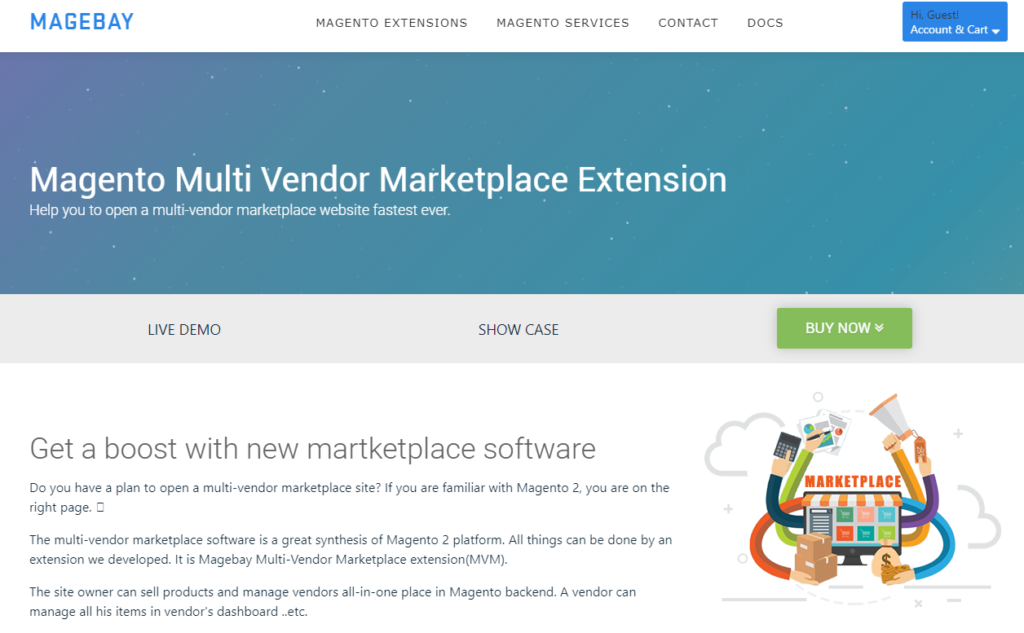Magento 2 Marketplace Extension for Magento 2 by MageBay