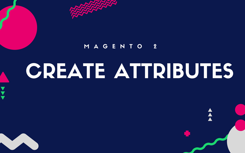 create magento 2 attributes