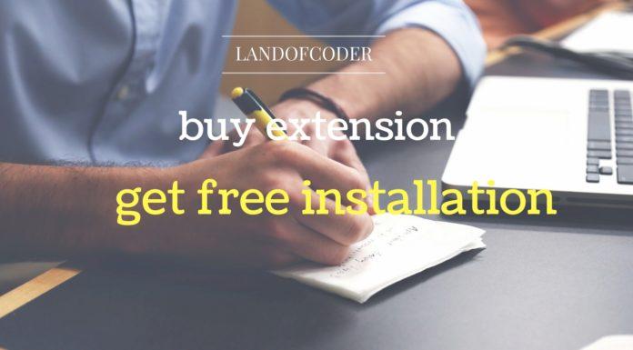 magento install extension