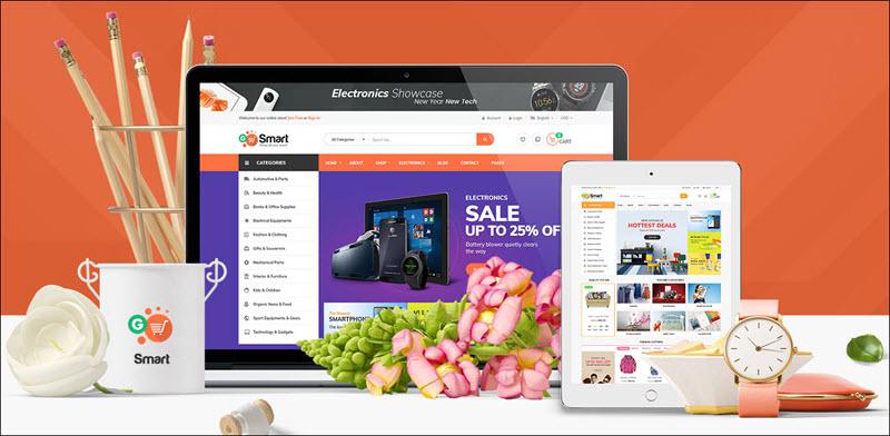 Ves Gosmart - magento 2 marketplace theme