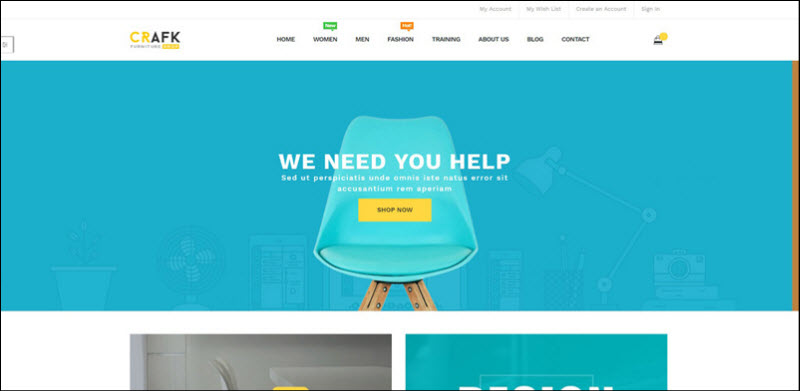 ves crafk - magento 2 marketplace theme