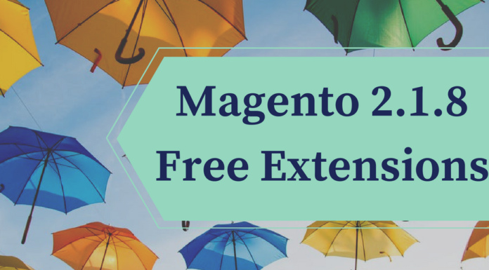 Magento 2.1.8 free extensions