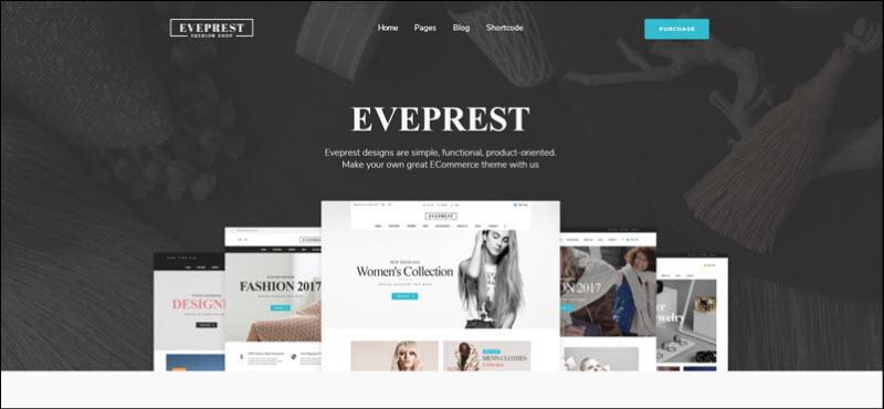 ves eveprest - magento 2 marketplace theme