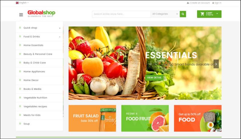 ves global - magento 2 marketplace theme