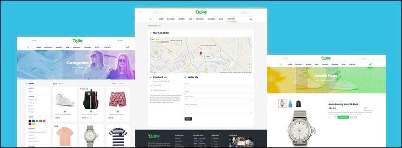 Ves Oshop - magento 2 marketplace theme