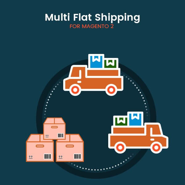 Magento 2 multi flat shipping extension