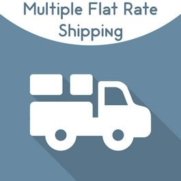 Magento 2 multiple flat rate shipping extension