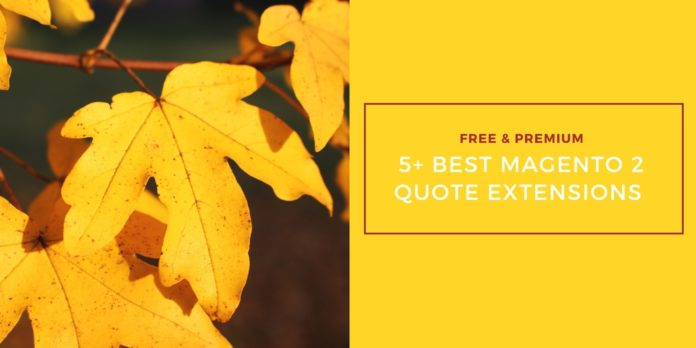 best magento 2 quote extension