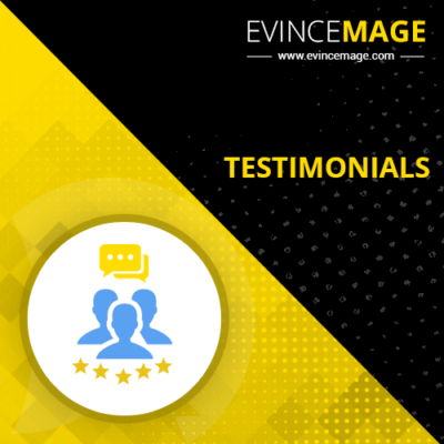 Testimonial extension from evincemage