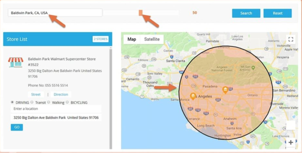Magento 2 Store Locator - Google Maps Dealer Locator