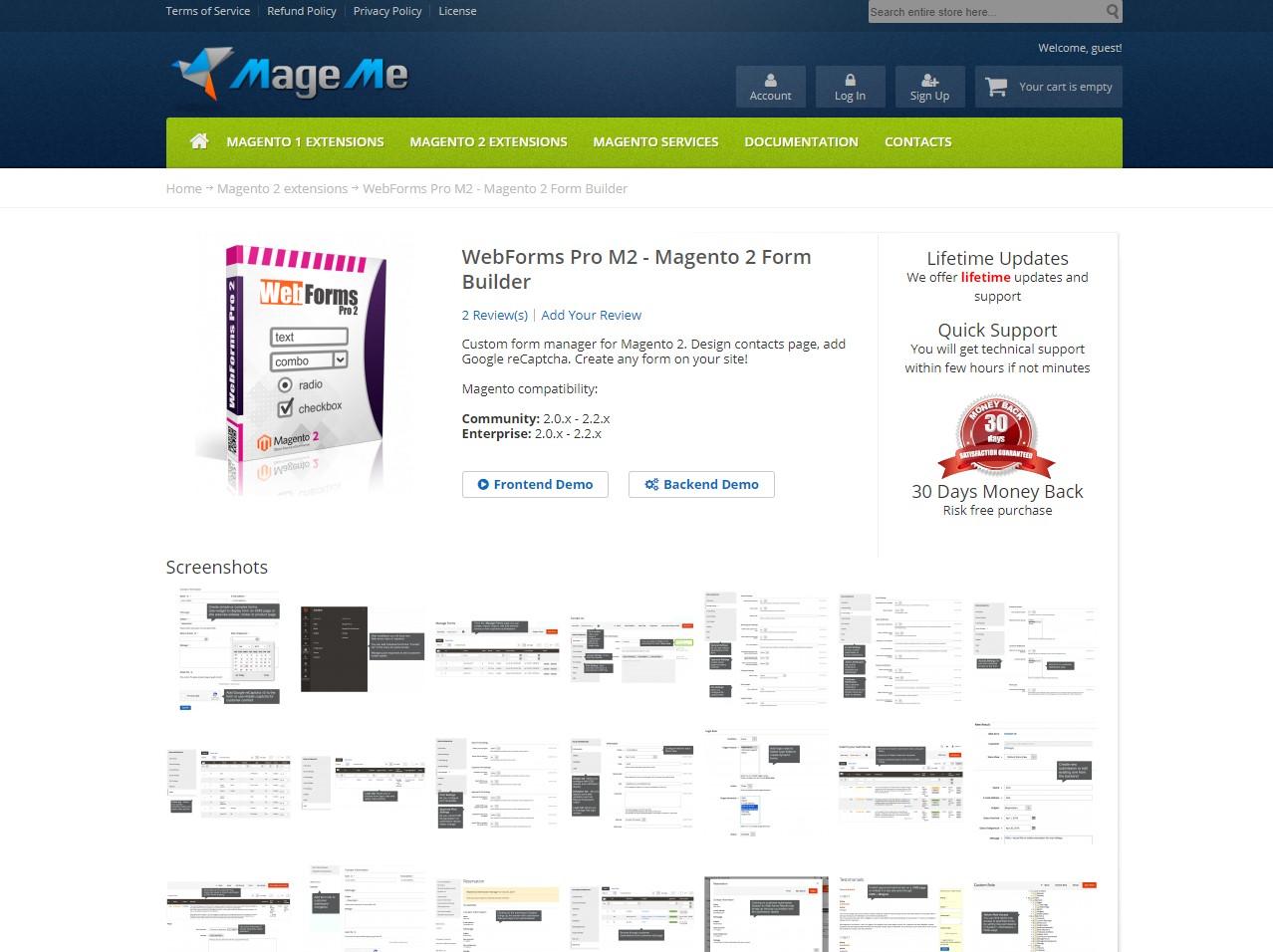 4. Form Builder for Magento 2 - Mageme