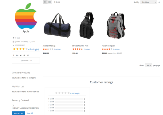 Magento 2 Marketplace Pro provides customers multiple brands and types