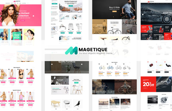 Magetique: AMP-Ready All-in-one Magento 2 Theme