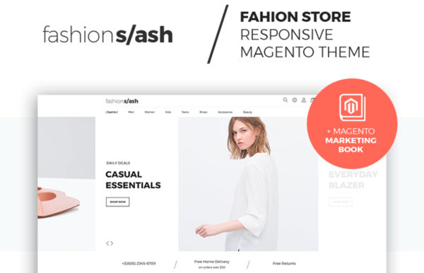 Fashion Slash - AMP-ready Fashion Magento E-store