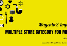 Magento 2 Menu Import Category
