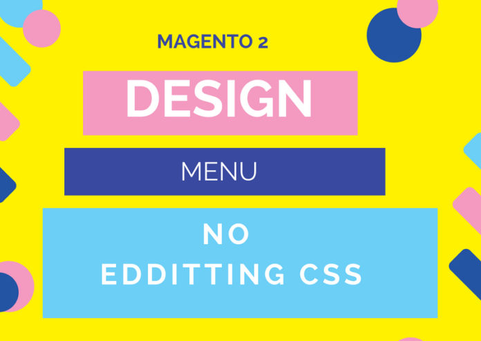style magento 2 menu without editting css file