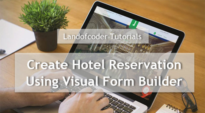 create hotel reservation form