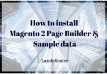 install Magento 2 Page Buidler & Sample data1