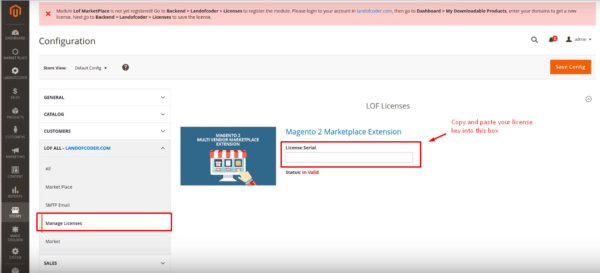 How to activate license key for magento 2 marketplace extension