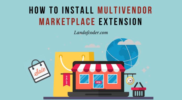 install multi vendor marketplace