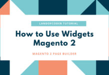 how to use widgets magento 2