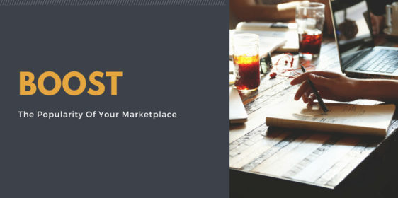 boost marketplace popularity