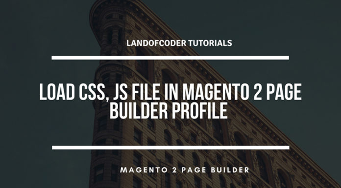 how to load css file special page builder magento 2