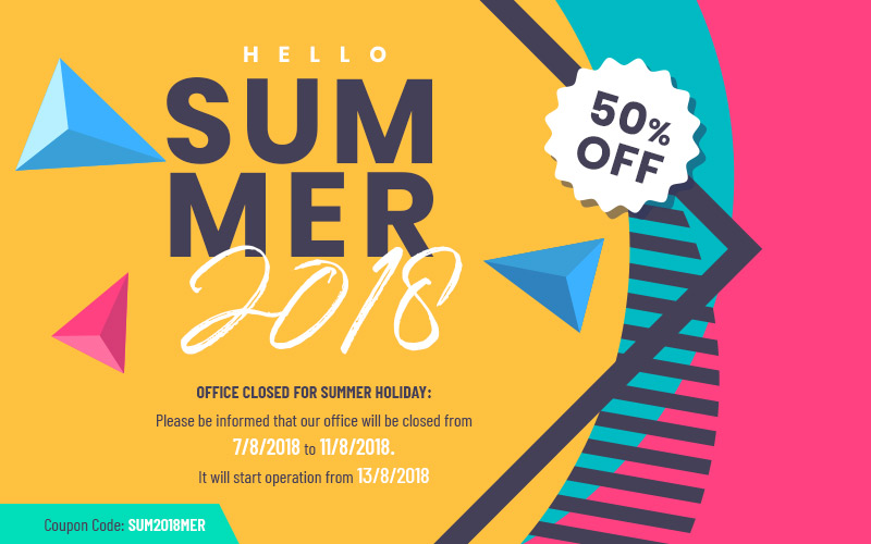 landofcoder summer holiday 2018 discount