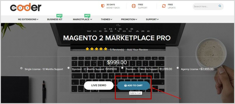purchase magento 2 marketplace pro extension
