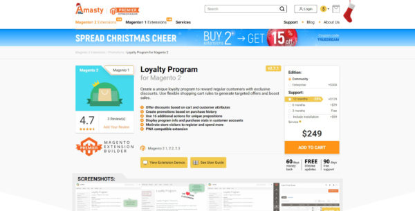 best magento 2 loyalty program collection