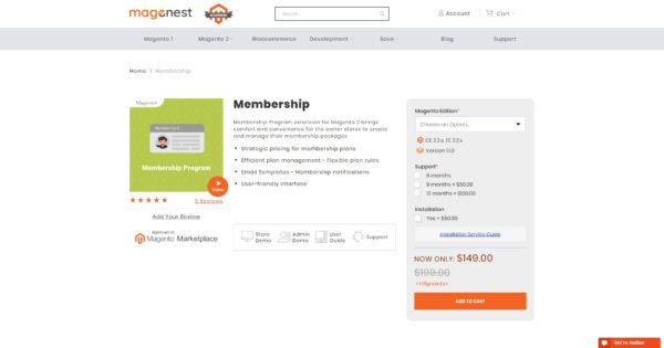 best magento 2 membership modules collection