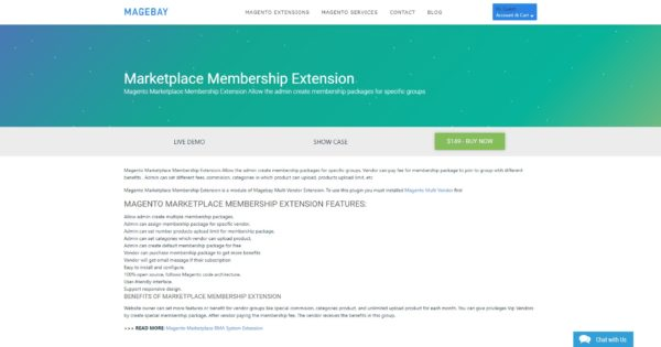 marketplace membership extension