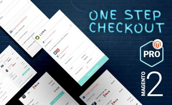 Magento 2 One Step Checkout Combo