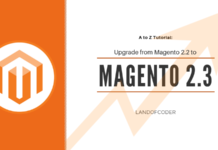 how to upgrade magento 2.3 from magento 2.2