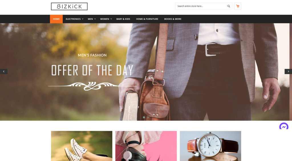 Bizkick theme free