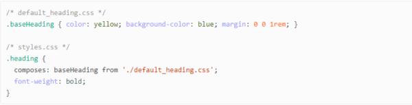 compose css module in Magento 2.3 PWA Studio