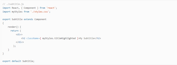 define a subtitle component in Magento 2.3 PWA Studio