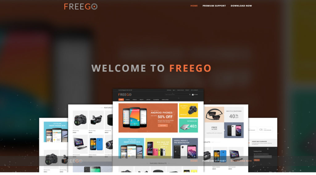 FreeGo free theme magento