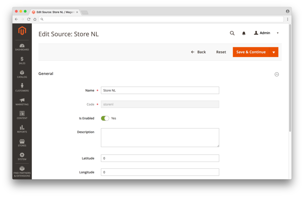 How to Manage Sources in Magento 2 Multi Source Inventory
