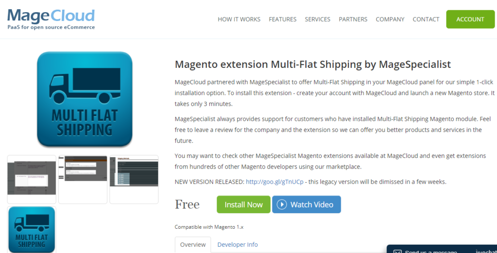 Magento extension multi-flat shipping