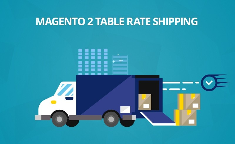 Magento 2 multiple table rate shipping