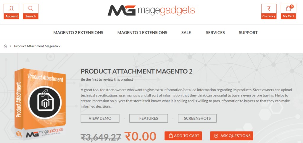 magegadgets product attachment magento 2