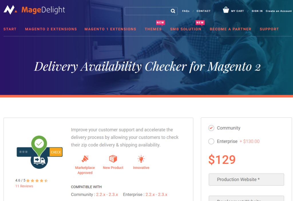 delivery availability checker for magento 2