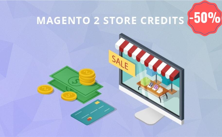 landofcoder magento 2 store credit off 50%