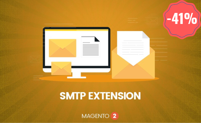 landofcoder magento smtp extension off 41%